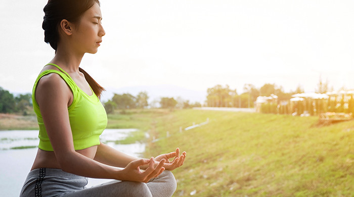 What are the different types of meditation which you can do to keep yourself active and healthy