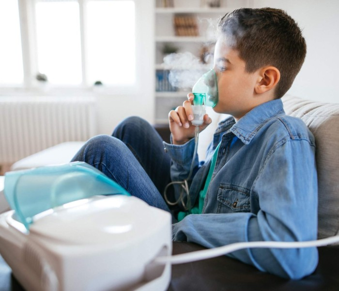 Easier to Manage Your Child's Asthma with portable nebulizer